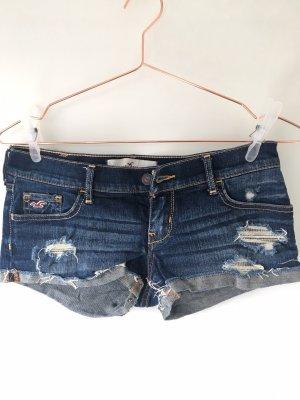 HOLLISTER Jeansshorts Hotpants dunkelblau