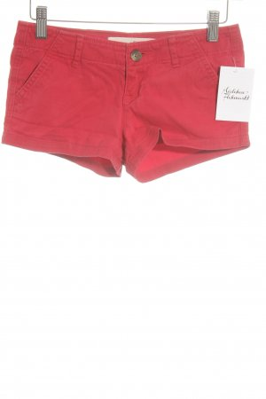 Hollister Jeansshorts rot Beach-Look