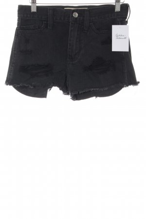 Hollister Jeansshorts schwarz Casual-Look