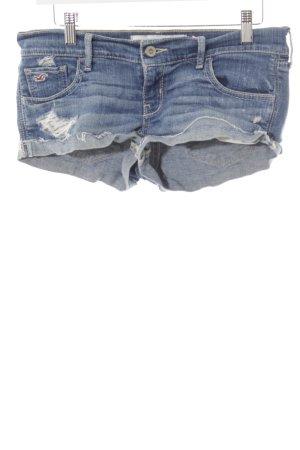Hollister Jeansshorts stahlblau Casual-Look