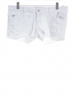 Hollister Jeansshorts weiß Casual-Look
