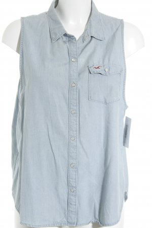 Hollister Jeansweste himmelblau Casual-Look