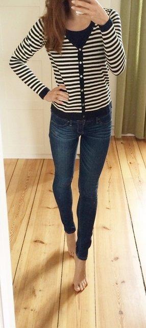 Hollister Jeggings blau Jeans Leggings W25 L29 1R
