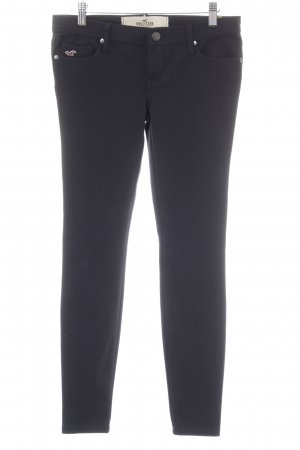 Hollister Jeggings azul oscuro look casual