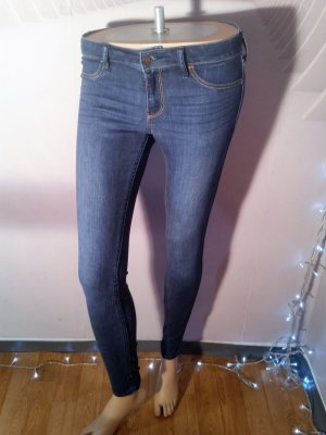 Hollister Jeans a sigaretta blu