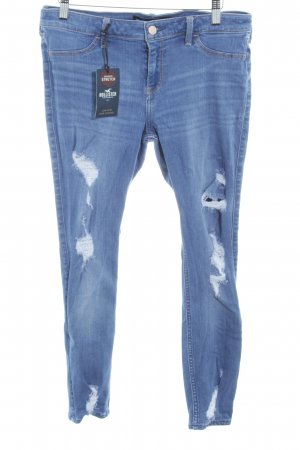 Hollister Jegging staalblauw-azuur casual uitstraling