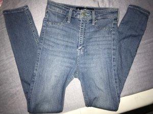 Hollister Hoge taille jeans lichtblauw