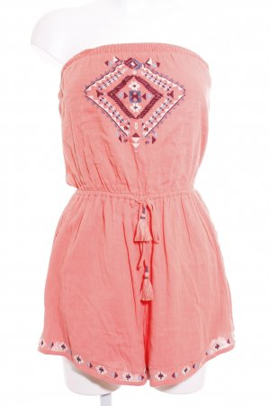 Hollister Jumpsuit abstraktes Muster Beach-Look