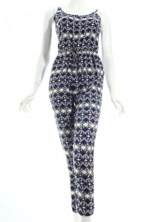 Hollister Jumpsuit abstraktes Muster Casual-Look