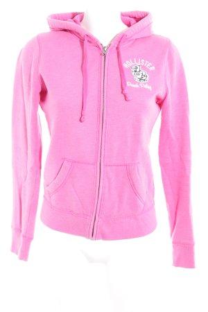 Hollister Kapuzenjacke pink Casual-Look