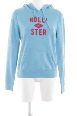Hollister Kapuzensweatshirt blau schlichter Stil