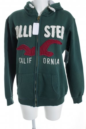 Hollister Kapuzensweatshirt grafisches Muster Casual-Look