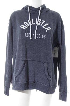 Hollister Kapuzensweatshirt graublau sportlicher Stil