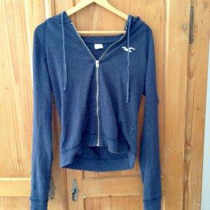 Hollister Kapuzensweatshirt in dunkelblau