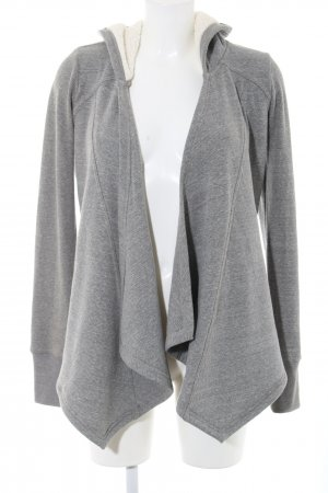 Hollister Hooded Vest light grey flecked casual look