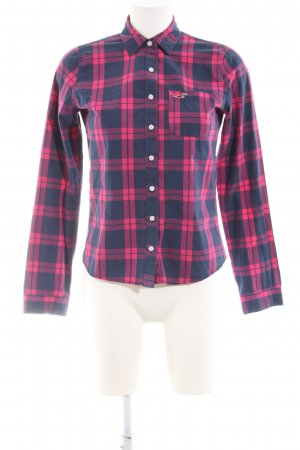Hollister Checked Blouse black-red check pattern casual look