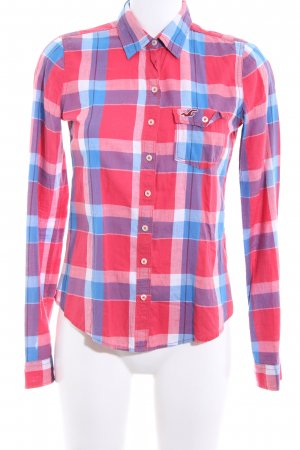 Hollister Checked Blouse check pattern business style