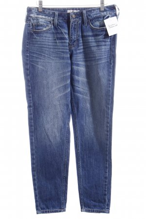 Hollister Wortel jeans donkerblauw zure was
