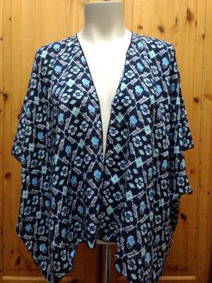Hollister Kimono donkerblauw-korenblauw