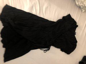 Hollister Denim Dress black