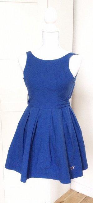Hollister Kleid Baumwolle Taillenband NEU 00 XXS XS