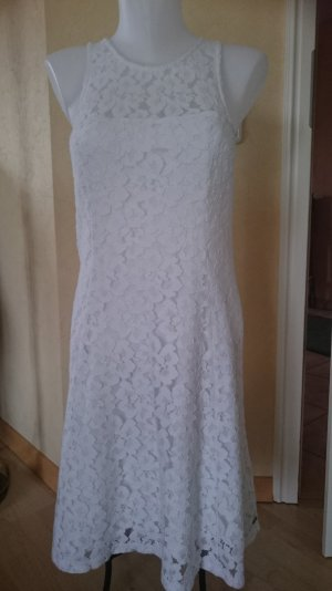 Hollister Abito in pizzo bianco