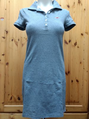 Hollister Polo Dress light grey