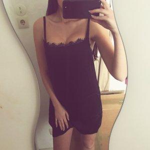 Hollister Kleid Spitze Satin Silky Slip Dress Top