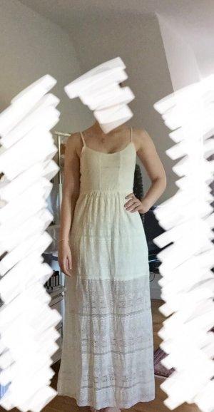 Hollister Kleid weiß Sommer