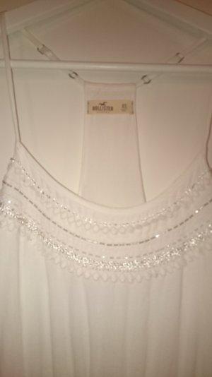 Hollister Kleid weiß XS / S