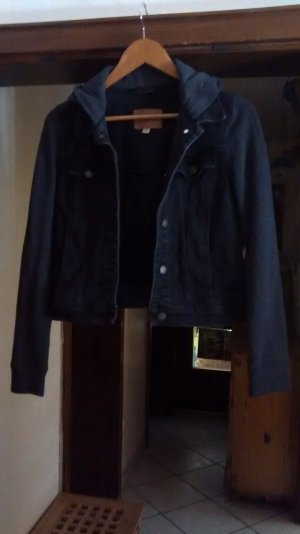 Denim Blazer black