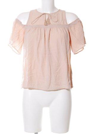 Hollister Kurzarm-Bluse nude Casual-Look