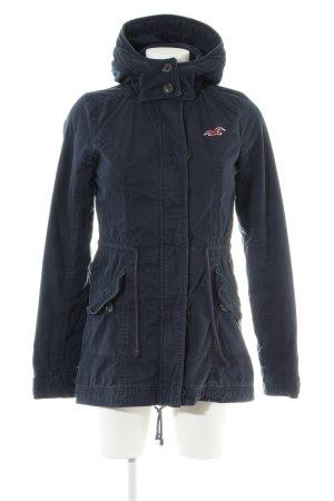 Hollister Short Coat blue casual look