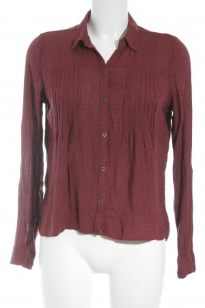 Hollister Langarm-Bluse bordeauxrot Casual-Look