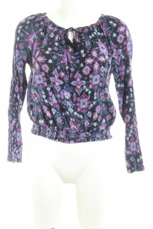 Hollister Langarm-Bluse Mustermix Casual-Look