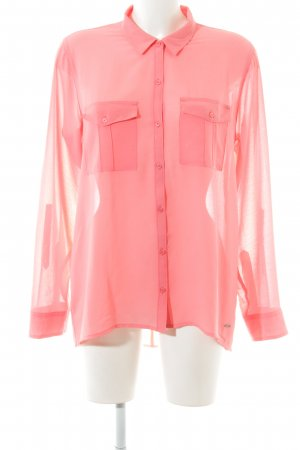 Hollister Long Sleeve Blouse pink casual look