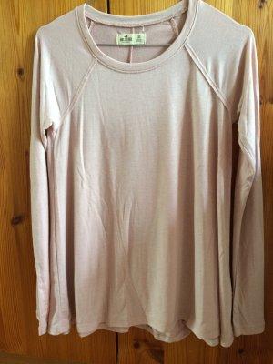 Hollister Langarm Shirt Rosa XS