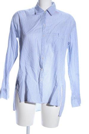 Hollister Camicia a maniche lunghe blu motivo a righe stile professionale