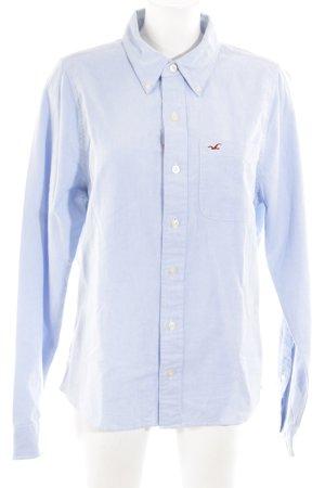 Hollister Camicia a maniche lunghe blu stile professionale