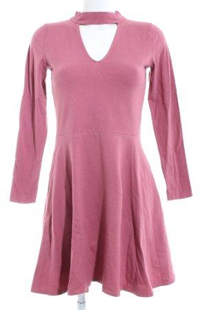 Hollister Langarmkleid pink Casual-Look