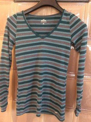 Hollister Camisa de rayas multicolor Algodón