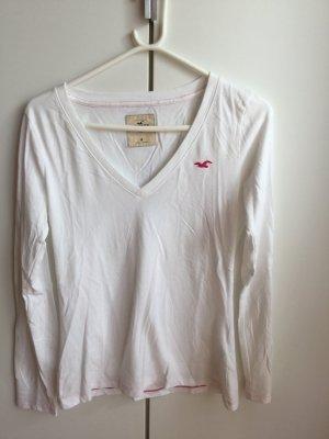 Hollister Langarmshirt in weiß