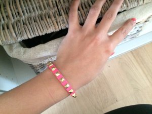 Hollister Armlet magenta-gold-colored
