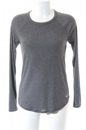 Hollister Longsleeve grau Casual-Look