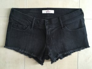 Hollister Low Rise Shorts kurze Hose Größe 5 W 27 schwarz