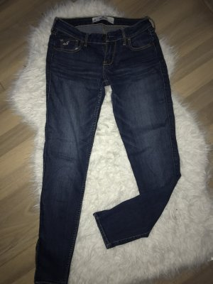 Hollister Jeans skinny bleu foncé