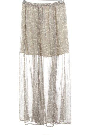 Hollister Jupe longue motif floral style romantique