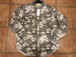 Hollister Military Hemd /- Neu mit Etikett