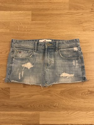 Hollister Minirock denim, used look, w28