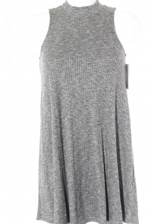 Hollister Halter Dress light grey-grey flecked casual look
